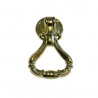 Ручка-кольцо металл, мод. 9055-05, жёлтый