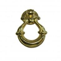 Ручка-кольцо металл, мод. 9056-05, жёлтый
