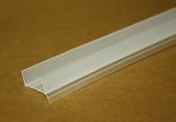Профиль уплотнительный, прозрачный, мод. SU18, 18 мм., 3,1 м.