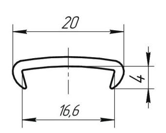 Профиль С-16 гиб