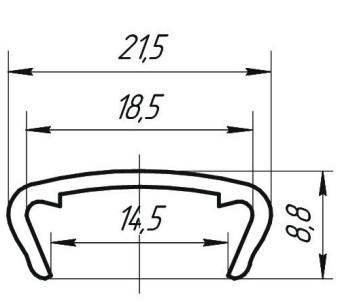 Профиль С-16 жест