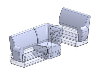 Стяжка дивана