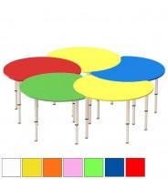 Стол регулир. цветочек из 5 секций (D193 см)