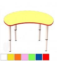 Стол регулир. полумесяц (D 90 см)