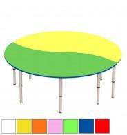 Стол регулир. лепесток из 2 секций (D150 см)