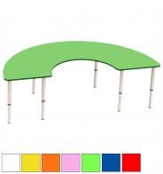 Стол регулир. подкова (D 160 см)
