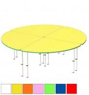 Стол регулир. круглый из 4 секций (D160 см)