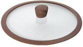 Стеклянная крышка с силиконовым ободом, 20 см, NADOBA, серия GRETA