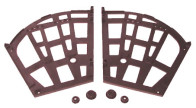 Кронштейн поворотный 3-х секц. коричневый