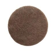 Наконечник войлочный клеевой, мод. W1024, d 24 мм., коричневый