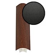 Профиль соединительный 90 гр., наружный, «Черный матовый»