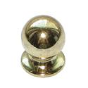 Ручка-кнопка металл, мод.119, золото
