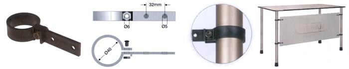 40 РBК 01 Хомут 40мм (черн.01)