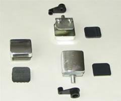Фурнитура д/стекла мод.П1 (никель)