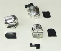 Фурнитура д/стекла мод.С1 (никель)