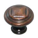 Ручка-кнопка металл, мод. 9066-09, окись меди