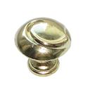 Ручка-кнопка металл, мод. 9065-05, жёлтый