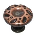 Ручка-кнопка металл, мод. 9068-09, окись меди