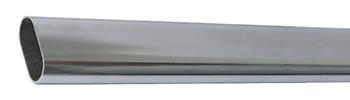 Штанга овальная металлическая L=30х15х3000мм., никель