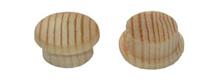 Заглушка деревянная (сосна) 10 мм., без покрытия