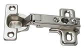 Петля 4-х шарнирная SLIDE-ON, MINI 26 мм. накладная, с ответной планкой