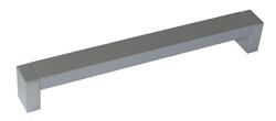 Ручка-скоба пластиковая, 160мм., мод. С-18, металлик (тон 3)
